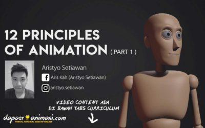 Dapoer Animasi : 12 Principle of Animation