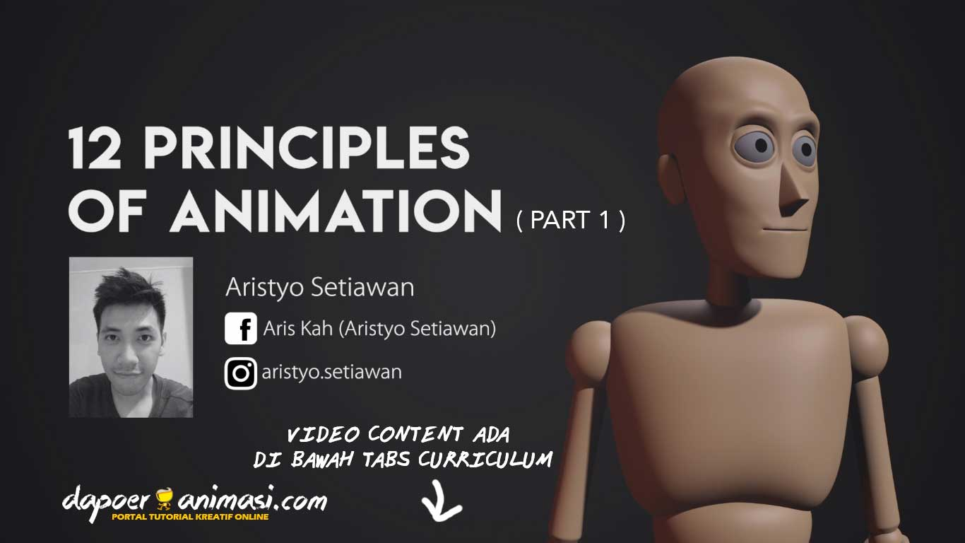Dapoer Animasi : 12 Principle of Animation