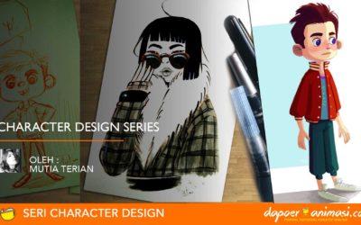 Dapoer Animasi : Character Design Series