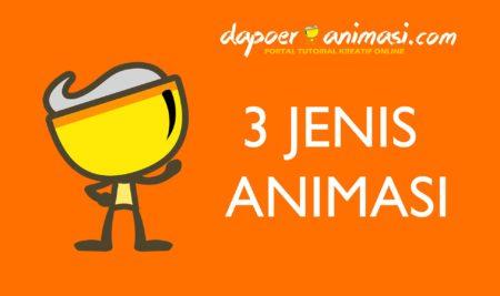 3 Jenis Animasi
