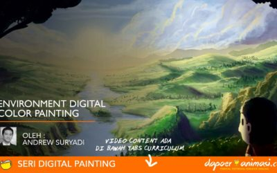 Dapoer Animasi : Environment Digital Color Painting