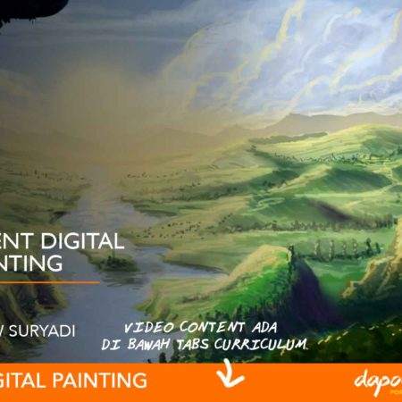 Dapoer Animasi : Environment Digital Color Painting