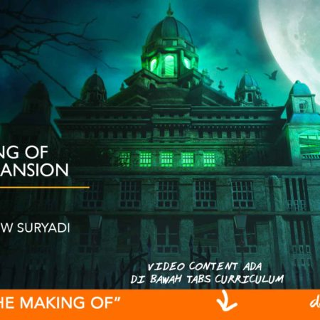 Dapoer Animasi : The Making of Spooky Mansion