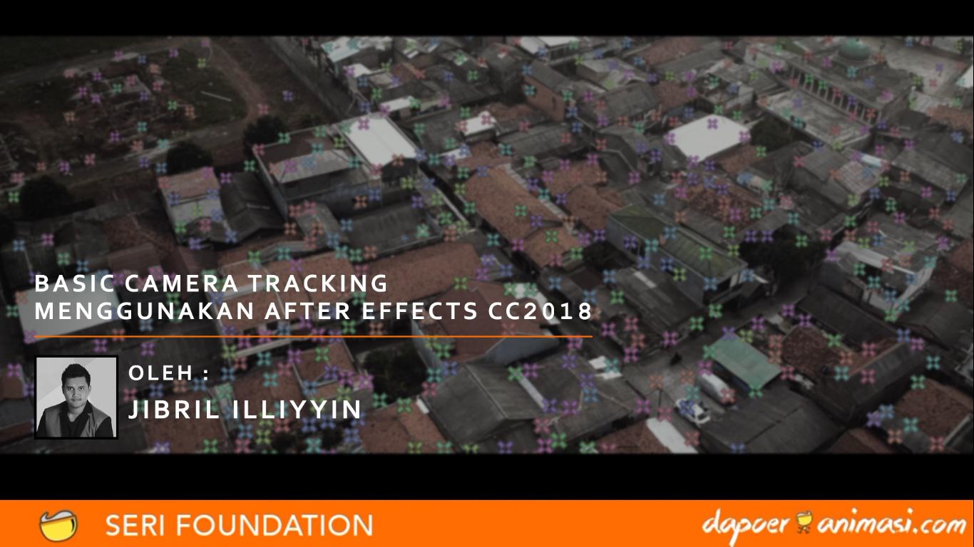 Dapoer Animasi  : Basic 3D Camera Tracking